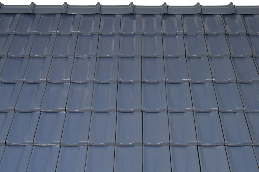 Glasur hellblau roof